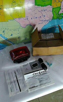 Code 3 Oscilaser New in Box Red Lens with operators manual