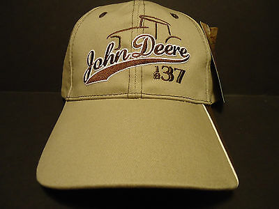 John Deere Tractor Hat Baseball Adjustable With Tag