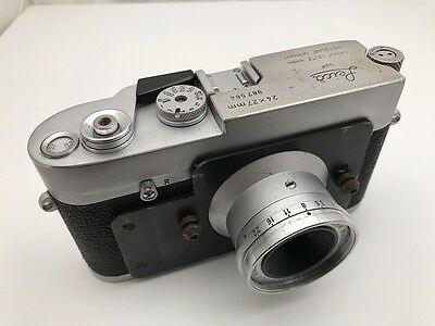 LEITZ LEICA MD POST (or M3 POST?) 24X27mm AND  SUMMARON3.5cm/3.5 - REF:CK8606