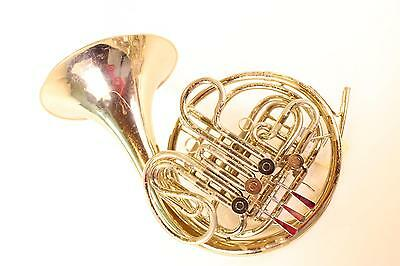 Reynolds Contempora Double French Horn Nickel Silver Kruspe Wrap GREAT PLAYER Qu