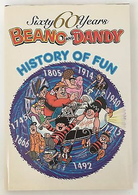 Sixty 60 Years The Beano and the Dandy History of Fun, unclipped