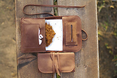 Elf Bread 1.3 - Leather Tobacco Pouch/Case/Holder (FREE Shipping Worldwide)