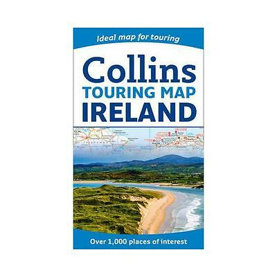 Collins Ireland Touring Map by Collins Maps (Sheet map, folded, 2017)