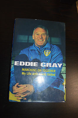 Eddie Gray Hand Signed Autobiography Book Autograph With Coa Leeds United