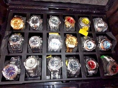 invicta watch collection of 18