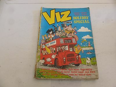 Viz Comic - Holiday Special - Date 1981 - UK Paper Comic