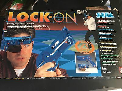 Vintage Boxed Sega Lock On Lazer Tag Gun