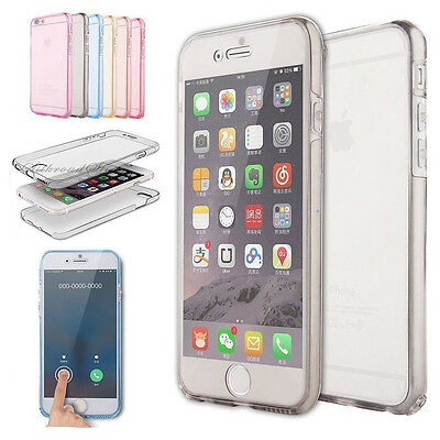 Hybrid New Shockproof Case & Screen Cover For Apple iPhone 7 5s 6s SE