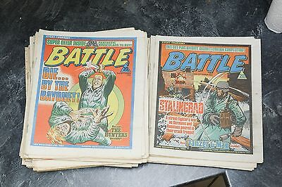 Battle comics, 42 issues from 1983, very high grade, free gifts, bargain