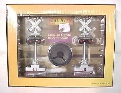 MTH 30-11014 Operating Crossing Flashers w/Sound