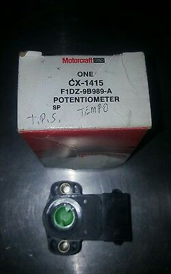Motorcraft  Genuine Parts Potentiometer Part # Cx-1415 Ford Part # F1Dz-9B989-A