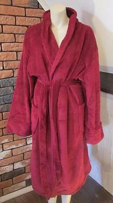 the SAVILE ROW COMPANY SUPER SOFT FLEECE DRESSING GOWN size XL new with tag #14