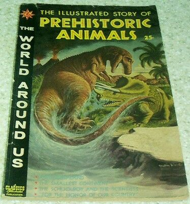 The World Around Us 15: Prehistoric Animals, (FN+ 6.5) Williamson! 40% off Guide