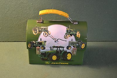 John Deere Tractor Mini Tin ~ Lunch Box ~ Trinket Box ~ Purse Deer Model A GP ++