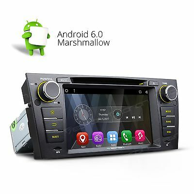 "For BMW E90-E93 7"" Android 6.0 Car DVD Player GPS Radio S OBD2 USB 3G WIFI DAB+"