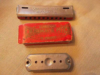 Antique Harmonicas- Genuine Richter / Congdon By Hohner