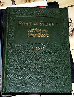 1929 Road & Street Catalog Data Book Construction