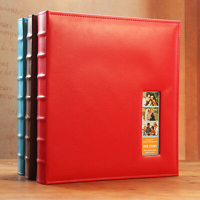 620 Pockets Slip In Leather Jumbo Photo Album 5&6&7Inches Photos All In One