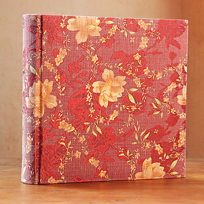200 Pockets Slip In Silk Cover Photo Album 6 Inches Photos - 3 Colors