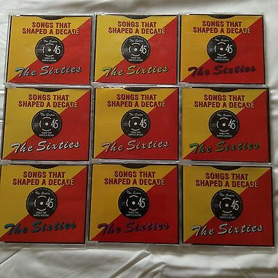 Songs That Shaped A Decade - The Sixties (9 Cd Bulk Lot)