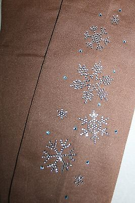 Over The Boot  O Skating Tights Full Leg Swirl Bling!! Last Few Reduced Age 6