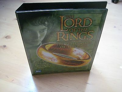 Lord of the Rings Fellowship Trading Card Binder (Album) + 9 Puzzle