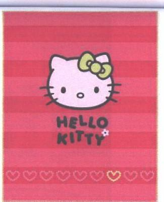 Hello Kitty Fleece-Decke 130/160cm Lizenzware