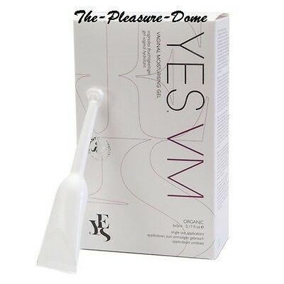 YES VM VAGINAL MOISTURISING WATER BASED relieves vaginal atrophy dryness 6x5ml