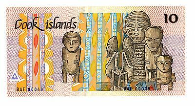 Cook Islands ... P-4a ... 10 Dollars  ... ND(1987) ... CH*UNC*