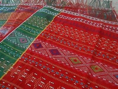 Vintage Hand Woven Ulos Batak Tribe Of North Sumatera Indonesia