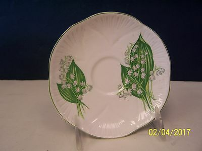Shelley Lily Of The Valley Saucer