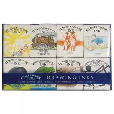 Winsor & Newton Winsor Newton Drawing Inks William Collection 8 Ink Set
