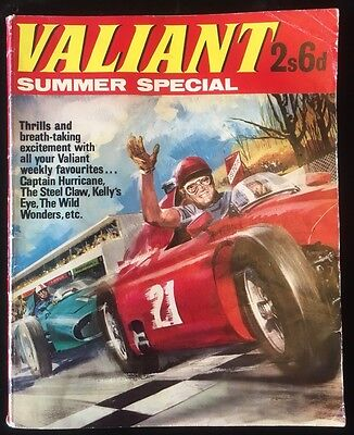 Valiant Summer Special 1966 - Card Covers First One! - Holiday Fun - Very Rare
