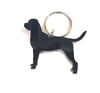 Rottweiler/Rottie Dog With Tail Keyring/bag Charm/Gift/Treat