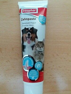 Beaphar toothpaste for dogs and cats 100g (meaty taste)