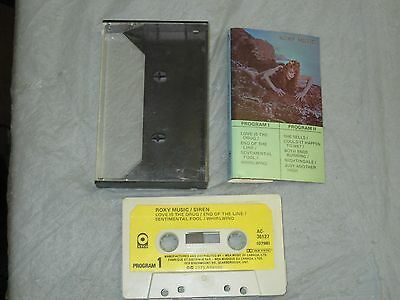 Roxy Music - Siren (Cassette, Tape) Complete Tested