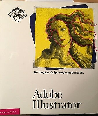 Adobe Illustrator Version 3.0 (Macintosh)