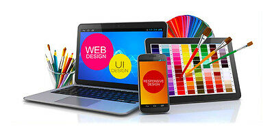 10 Pg Custom Website Design Package +  1 Year  Free Support