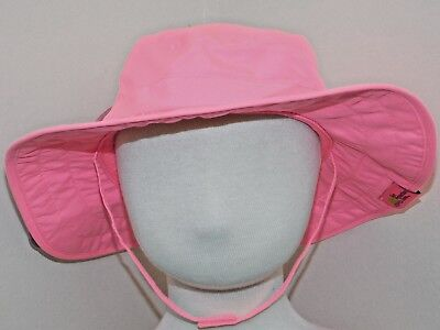 Sun Protection Zone Child Safari Sun Hat UV Sun Protective Lightweight Velcro St