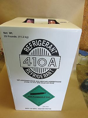 R410A  Refrigerant 25LB New Factory Sealed Puron Type  For Air Conditioning