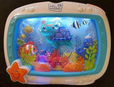 Baby Einstein Sea Dreams Soother Crib Toy HUJ musical Toy excellent condition
