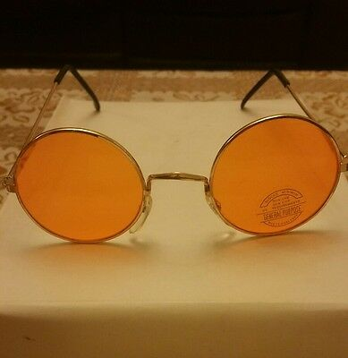 John Lennon Style Sunglasses Ozzy Osbourne 80's Fancy Dress Glasses uva uvb uv