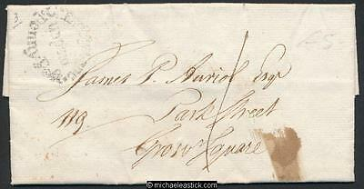 GB 1799 cover to Grosvenor Square London unpaid penny post Deeds of Covenant