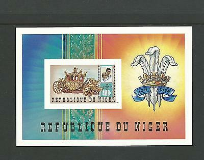 1982 Royal Birth of Prince William Mini sheet  Complete MUH/MNU