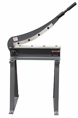 KAKA HS-500 20x16 Manual Guillotine Shear, Metal Plate Cutting Shear With Stand