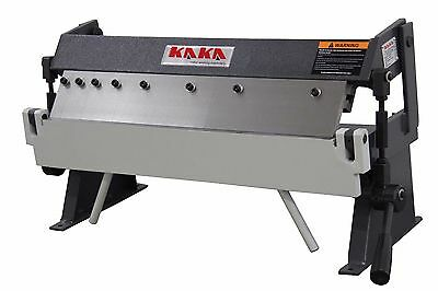 KAKAIND 24In Box and Pan Brake, 20 Ga Sheet Metal Brakes, Sheet Metal Machine