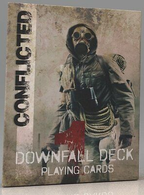 Conflicted: The Survival Card Game - Deck 1 - Downfall Deck- Free Shipping