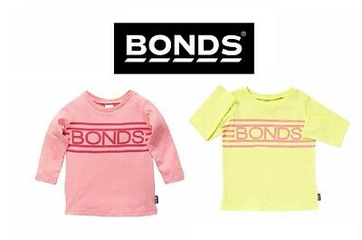 BODNS BABY LONG SLEEVE TEE Girls Kids Top Winter Signature Clothing Basic BYV3A