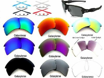 Galaxy Replacement Lenses For Oakley Flak 2.0 XL Multi-Colors Option Polarized