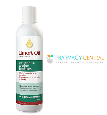 Elmore Oil 250ml | Arthritis pain, muscular aches and pain